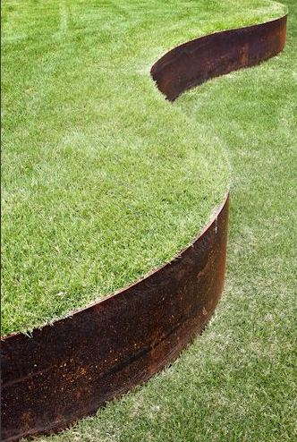 Пример подпорной стенки