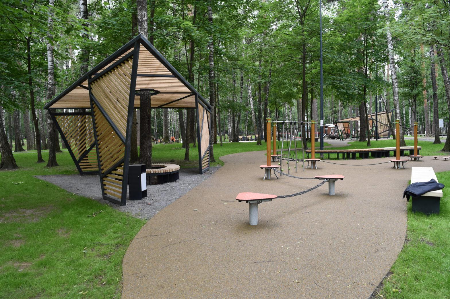 Благоустройство парковой зоны в г.Балашиха