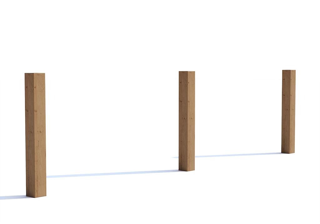 """Ограждение """"Woody simple"""""""